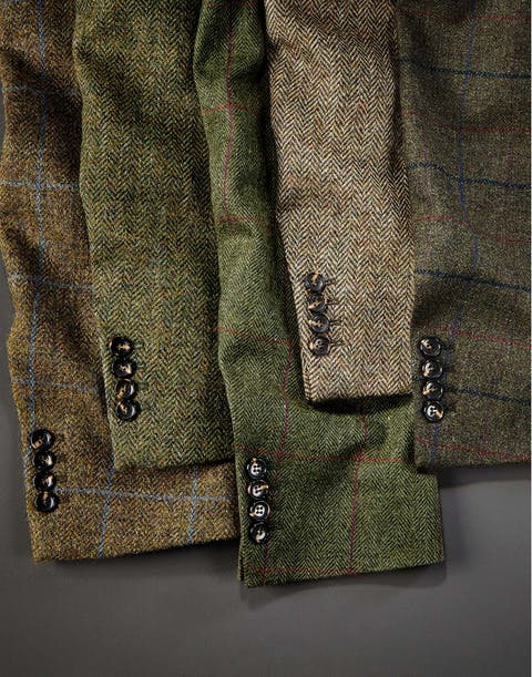 Men's Tweed Jackets and Blazers