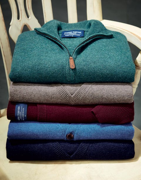 Lambswool Knitwear. 100% Pure Lambswool.
