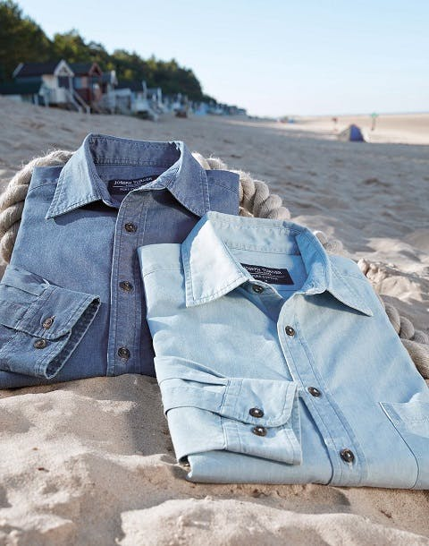 Cotton Chambray: the Perfect Casual Shirt Fabric