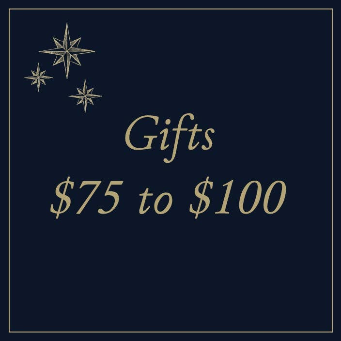 Gifts $75 to $100