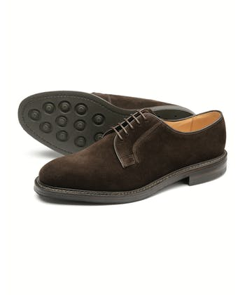 Hawnby Shoe - Dark Brown