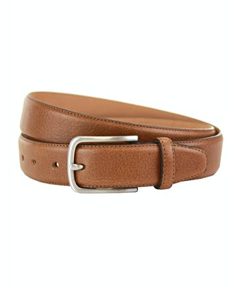 Classic Leather Belt - Tan