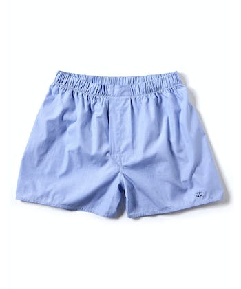 Boxer Shorts - Blue End-on-End