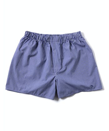 Boxer Shorts - Navy Gingham
