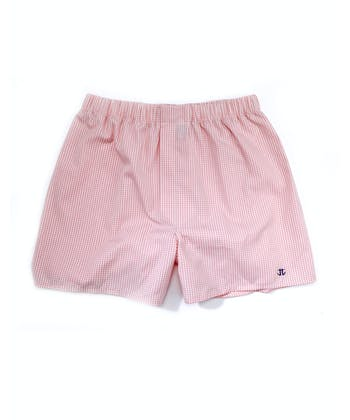 Boxer Shorts - Pink Gingham
