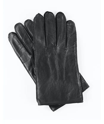 Leather Gloves - Black