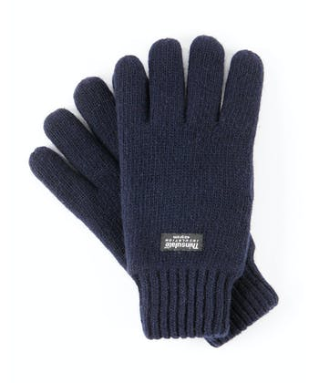 Wool Gloves - Navy