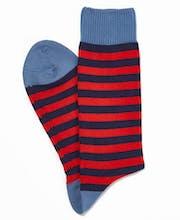 Stripey Cotton Socks