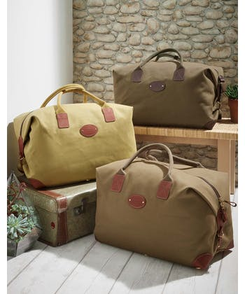 Chapman Travel Holdall - Large - Light Olive