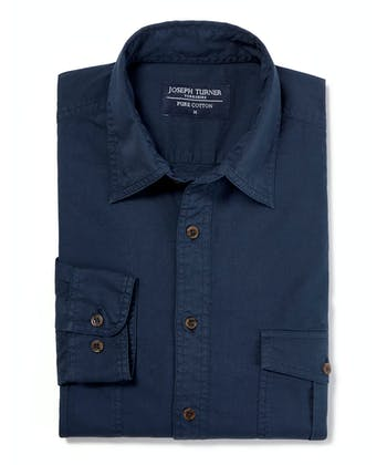 Safari Shirt - Navy