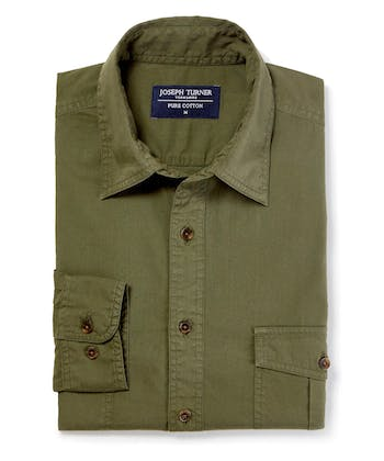 Safari Shirt - Olive
