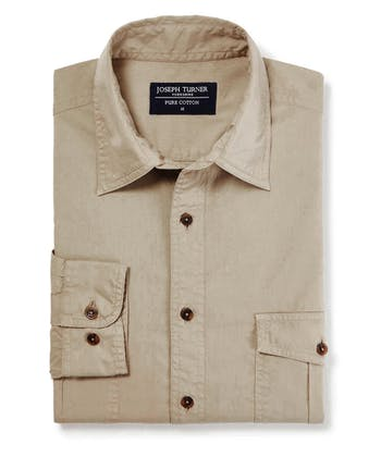 Safari Shirt - Stone