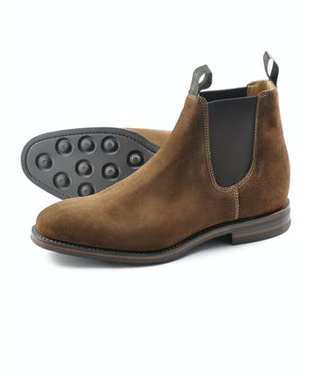 Chatsworth Boot - Brown Suede
