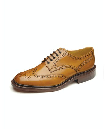 Chester Brogue Shoe - Tan