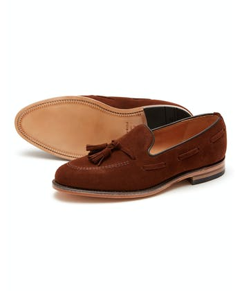 Lincoln Loafer - Light Brown Suede