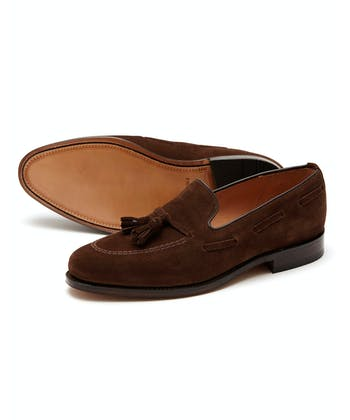 Lincoln Loafer - Dark Brown Suede