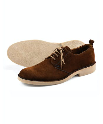 Mojave Desert Shoe - Brown Suede