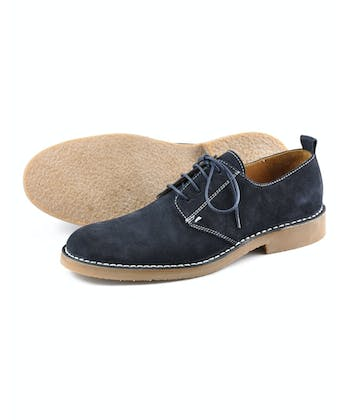 Mojave Desert Shoe - Navy Suede