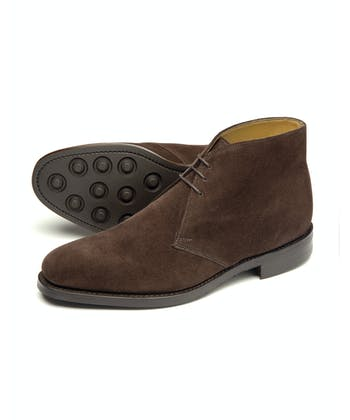 Pimlico Boot - Brown Suede