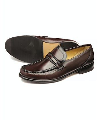 Rome Moccasin - Burgundy