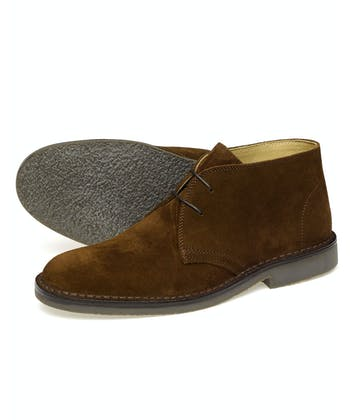 Sahara Suede Desert Boot - Brown