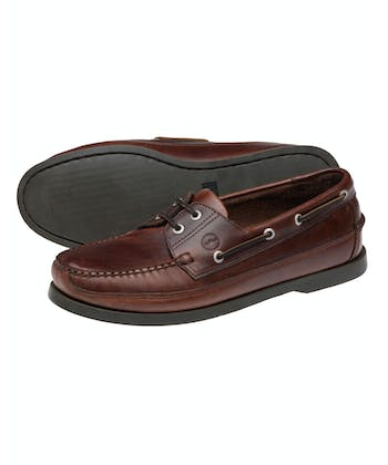 Augusta Deck Shoes - Elk