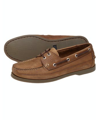 Augusta Deck Shoes - Sand