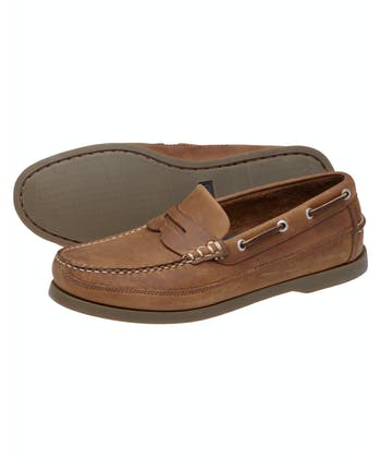 Fripp Deck Loafers - Sand