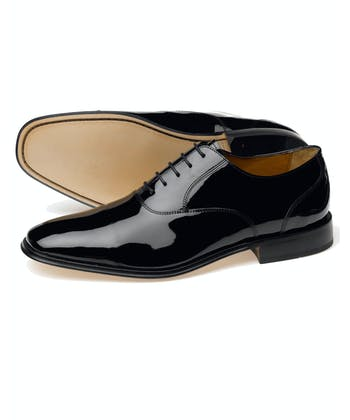 Patent Leather Shoe - Black