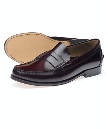 Princeton Loafer - Burgundy