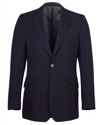Single Breasted Blazer - Navy