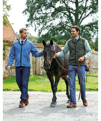 Coverdale Fleece Gilet - Blue