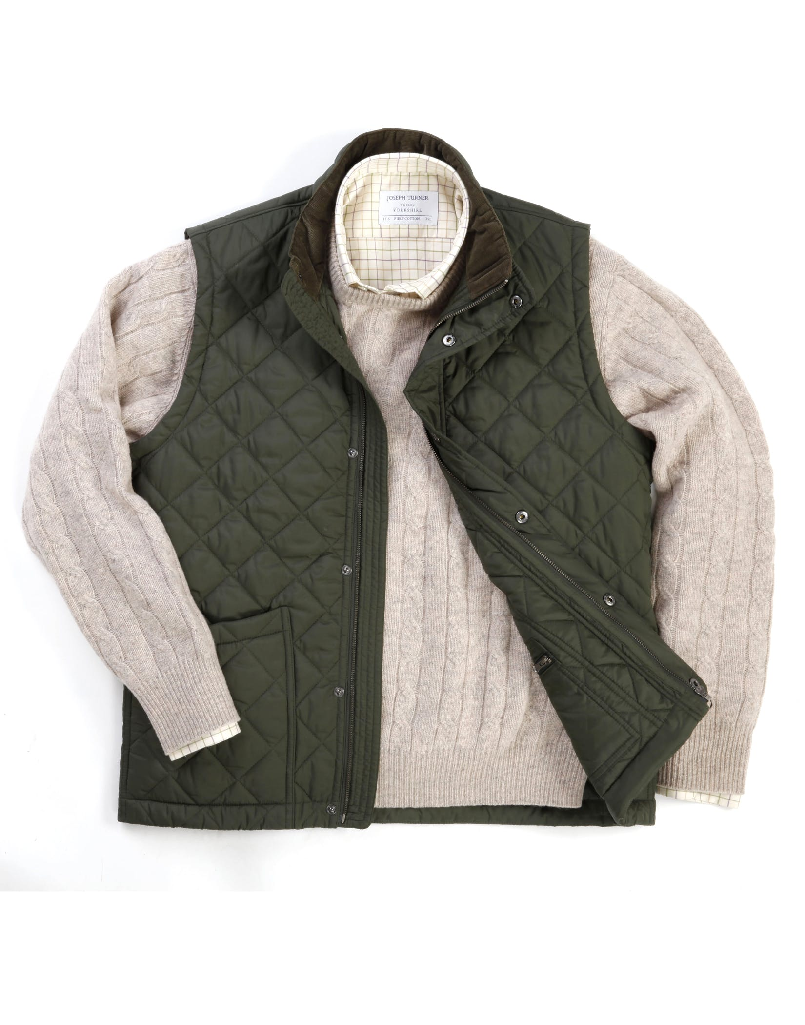 Paddock Quilted Gilet