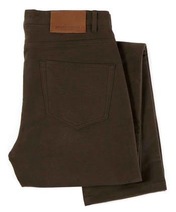 Moleskin Jeans - Brown