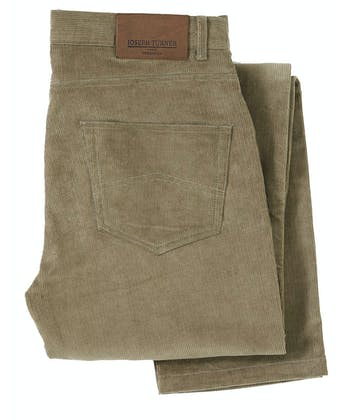 Needlecord Jeans - Light Olive