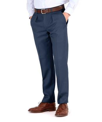 Cavalry Twill Trousers - Navy