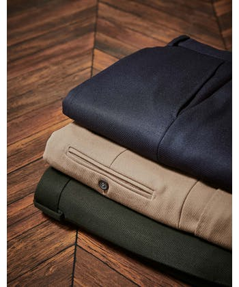 Cavalry Twill Trousers - Dark Olive