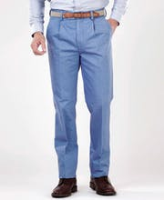 Pleated Front Chinos