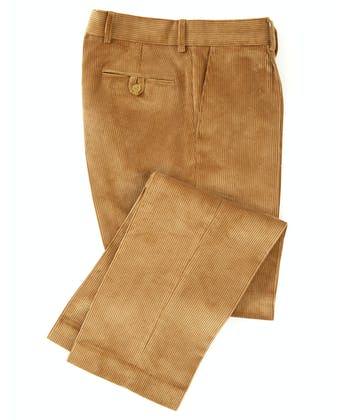Corduroy Trousers - Dark Sand