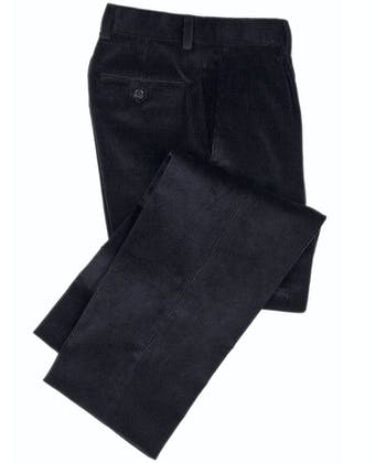 Corduroy Trousers - Navy