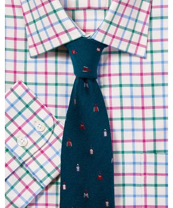 Green/Sky/Pink Country Check Shirt