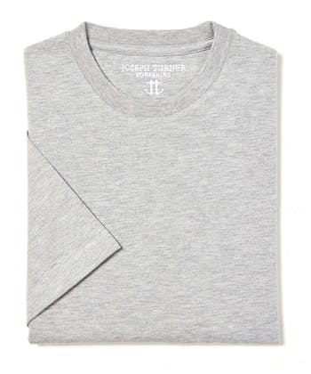 Cotton T-Shirt - Grey Marl