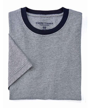 Cotton T-Shirt - Navy Mix