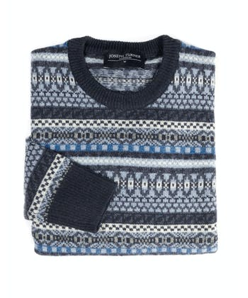 Fair Isle Jumper - Blue