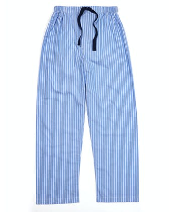 Pull-on Bottoms - Blue/White Stripe (fine)