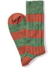 Melange Stripe Socks