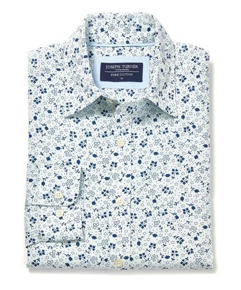 Cotton Print Shirt - Ditsy Floral