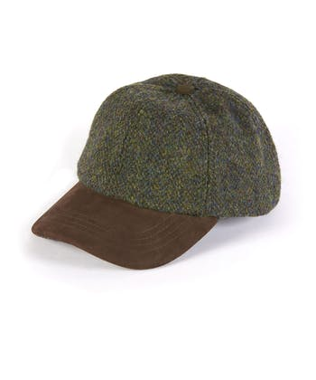 Peaked Cap - Forest Green