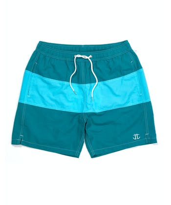 Swimming Trunks - Green/Aqua