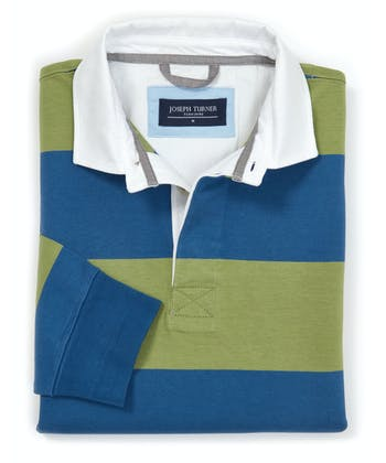 Rugby Shirt - Green/Blue